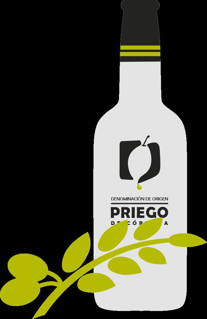 Botella_DOP Priego Córdoba