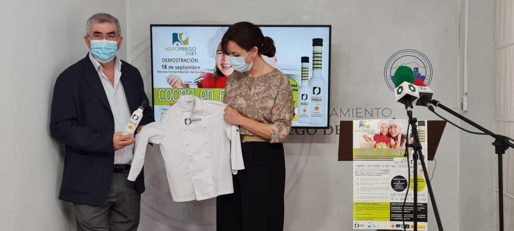 Rueda prensa Quinta Edición Cocina en Familia - DOP Priego de Córdoba