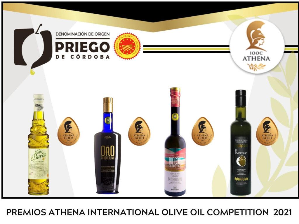 Concurso Internacional Athena International - DOP Priego de Córdoba