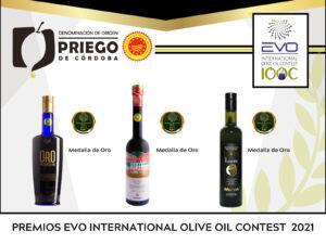 Concurso Internacional EVO International Olive Oil DOP Priego de Córdoba