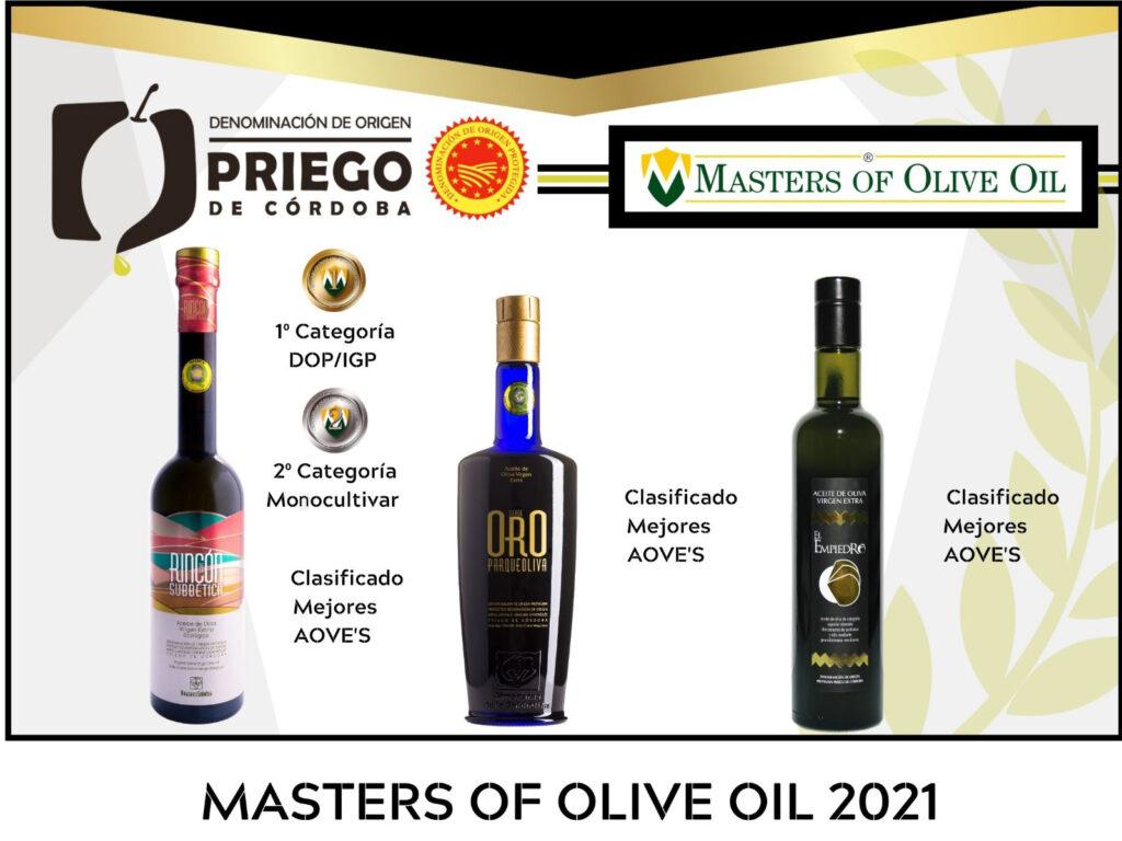 Concurso Internacional Masters of Olive Oil - DOP Priego de Córdoba