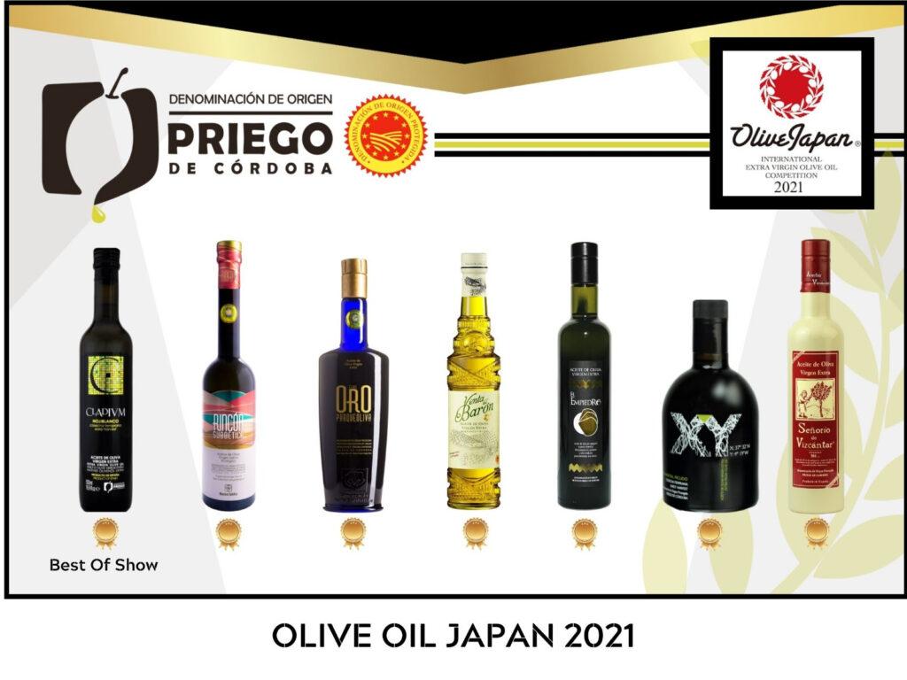 Concurso Internacional OLIVE JAPAN®- DOP Priego de Córdoba