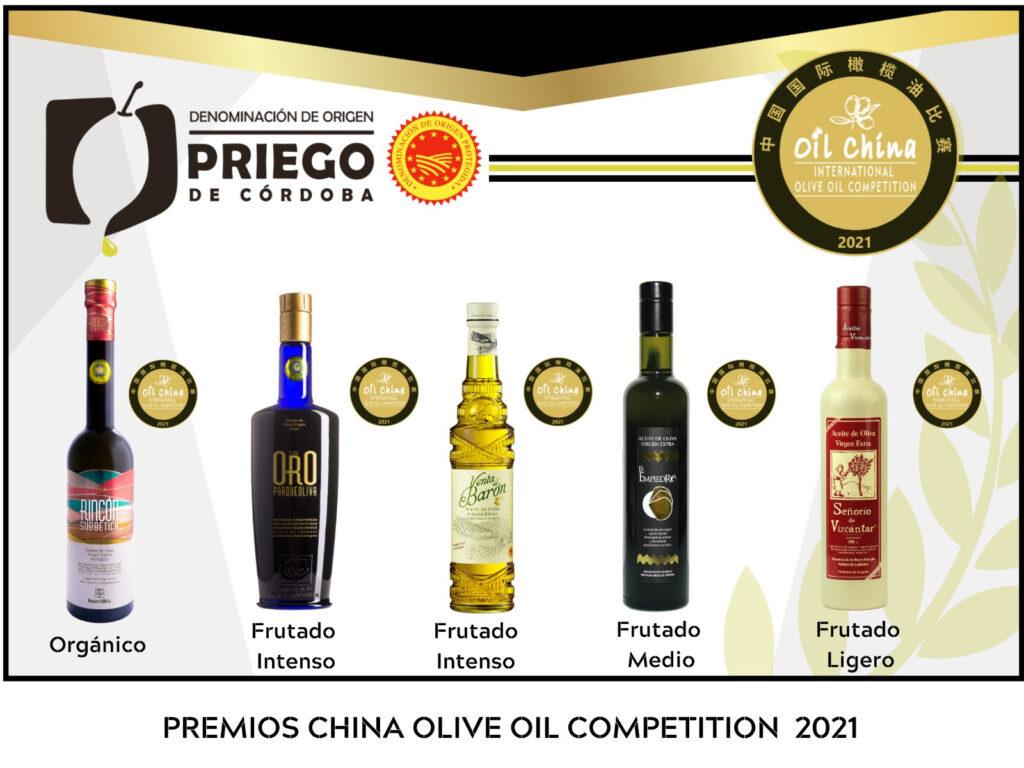 Concurso Internacional Olive Oil China Competition - DOP Priego de Córdoba