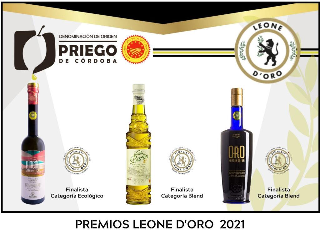 Premios Leone d'oro 2021 - DOP Priego de Córdoba