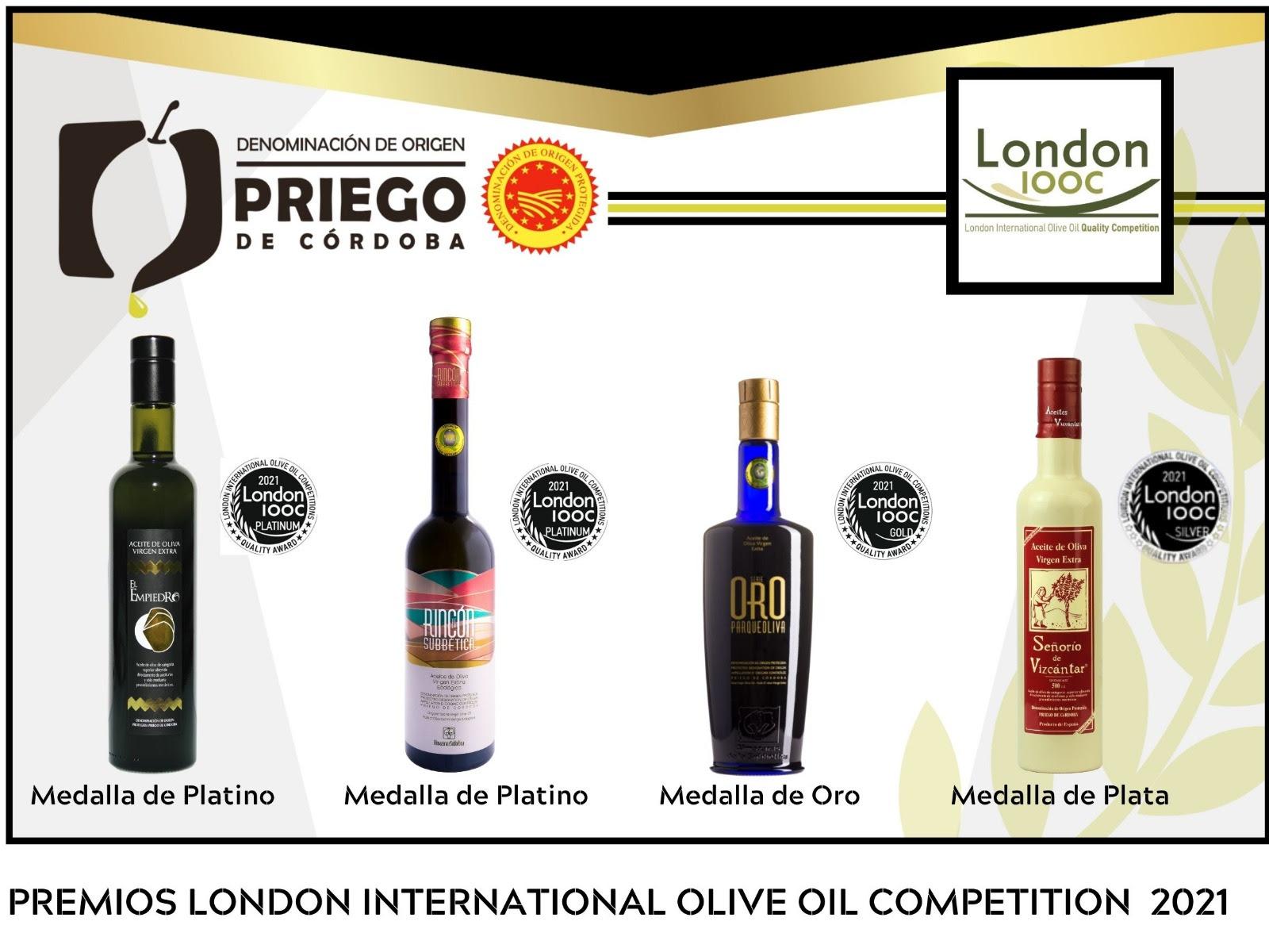 Premios London Internacional - DOP Priego de Córdoba