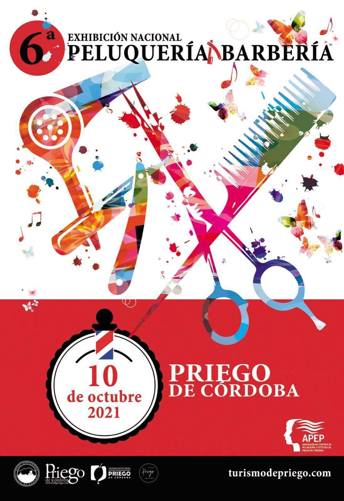 VI Exhibición nacional Peluquería y Barbería Priego de Córdoba