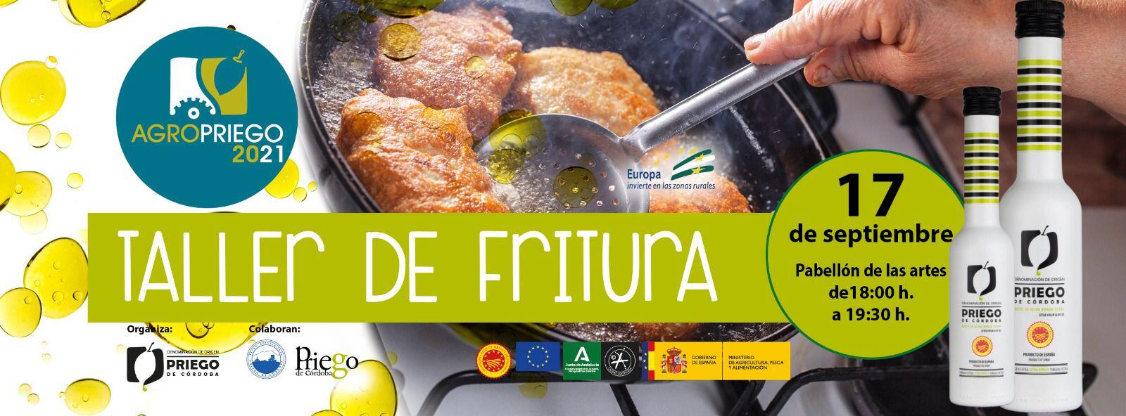 Taller de Fritura Agropriego 2021 - DOP Priego de Córdoba