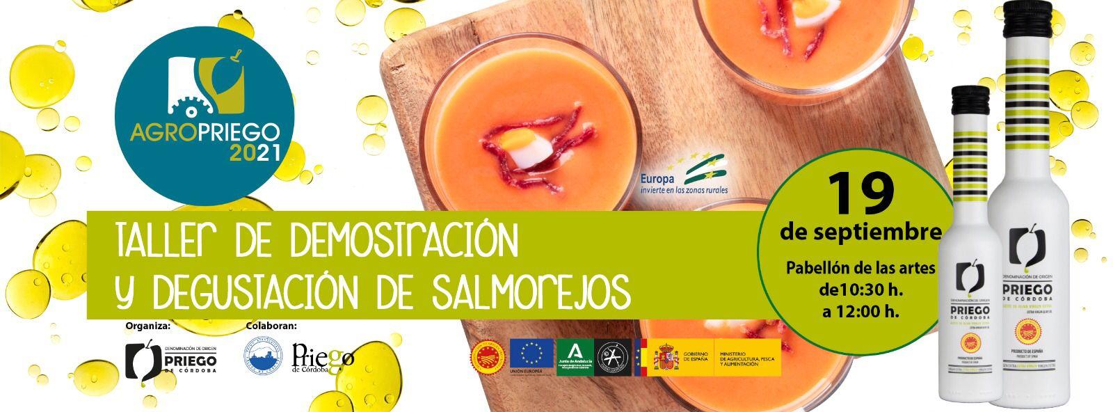 Taller de Demostración y Degustación Salmorejos DOP Priego de Córdoba