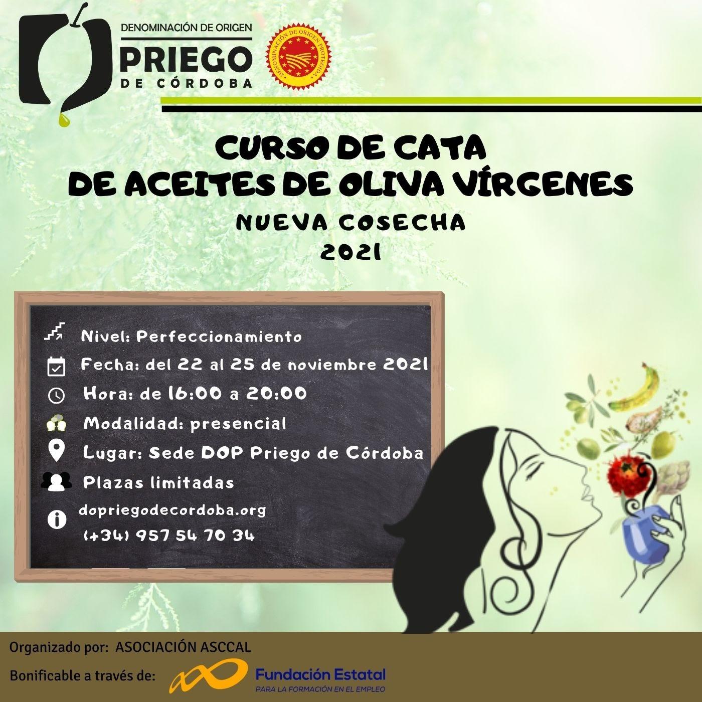 Curso de Cata - DOP Priego de Córdoba