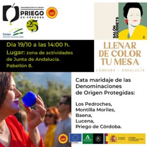 Llena de Color tu Mesa - DOP Priego de Córdoba